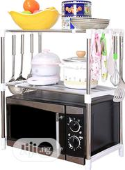 Microwave Oven Rack | Kitchen Appliances for sale in Lagos State, Ipaja