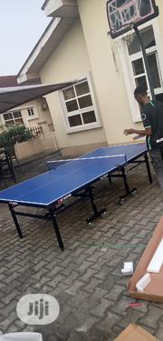 Quality Outdoor Table Tennis Board With Bats Balls ( Waterproof ) | Sports Equipment for sale in Lagos State, Lekki Phase 1