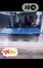 Durable Outdoor Table Tennis Board Waterproof With Bats Balls | Sports Equipment for sale in Lagos State, Lekki Phase 2