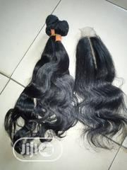 Body Wave Human Hair With Kim K Closure | Hair Beauty for sale in Lagos State, Ikeja