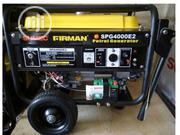 Sumec Firman 3.3KVA Key Start Generator - SPG4000E2 100% Copper | Electrical Equipments for sale in Lagos State, Ikeja