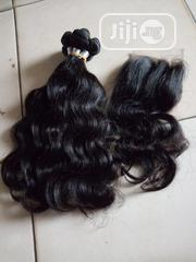 Body Wave Human Hair With Closure | Hair Beauty for sale in Lagos State, Lagos Island
