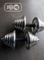 Pair of 20kg Dumbbell   Sports Equipment for sale in Lagos State, Surulere