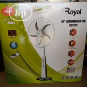 "Royal Strong Wind 18"" Rechargeable Fan 