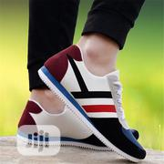 Canvas Sneaker Male EU40-46 Breathable Fashion Red/Blue | Shoes for sale in Ogun State, Abeokuta South