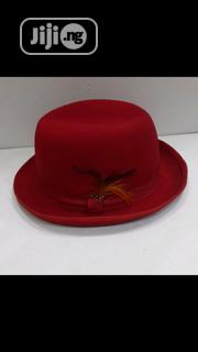 Bowler Men's Hat Red 15% Discount | Clothing Accessories for sale in Lagos State, Ajah