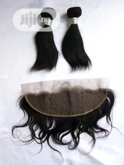 Grade 9A 8inch 200gram Straight Virgin Human Hair With 8inch Frontal | Hair Beauty for sale in Lagos State, Lagos Mainland