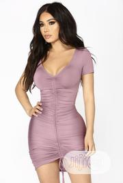 Lavender Bodycon Dress | Clothing for sale in Abuja (FCT) State, Wuye