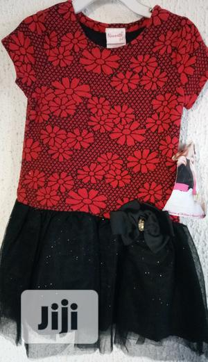 Nannete Red &Black Gown