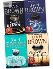 Collection Of Dan Brown | Books & Games for sale in Lagos State, Surulere