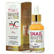 Snail White Gold Serum Super Active X10 Whitening Anti Aging - 30ml | Skin Care for sale in Lagos State, Ojo