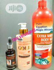 Pure Egyptian Magic Extra Whitening Set (With Purec Gold Lotion) | Skin Care for sale in Lagos State, Amuwo-Odofin