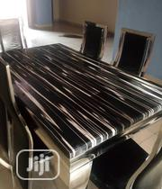 New Smart Six Seater Marble Dining Table | Furniture for sale in Rivers State, Port-Harcourt