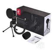 SF-777 Condenser Microphone With Pop Filter & Tripod Stand | Accessories & Supplies for Electronics for sale in Lagos State, Ikeja