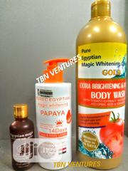 Pure Egyptian Magic Brightenig Firming Set (With Purec Papaya) | Skin Care for sale in Lagos State, Amuwo-Odofin
