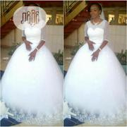 Beautiful White Ball Wedding Gown | Wedding Venues & Services for sale in Abuja (FCT) State, Kubwa