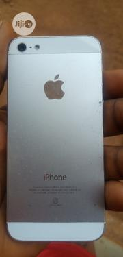 Apple iPhone 5 16 GB Silver | Mobile Phones for sale in Enugu State, Nsukka