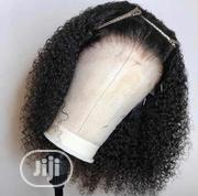 Curly Human Hair Frontal Wig | Hair Beauty for sale in Lagos State, Lagos Mainland