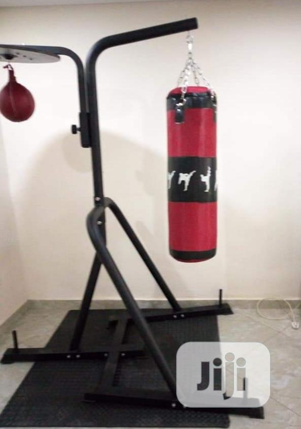 Punching Bag With Stand.