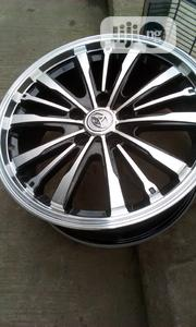 Original Toyota Alloy Wheels Rim 17.. Japanese Premium 2years Warranty | Vehicle Parts & Accessories for sale in Lagos State, Ikeja
