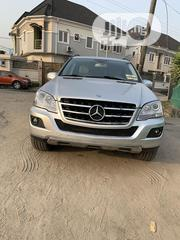Mercedes-Benz M Class 2009 ML350 AWD 4MATIC Silver | Cars for sale in Lagos State, Surulere
