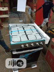 Brand New Midea Gas Cooker 4burners Gas Oven Black Colour Warranty | Restaurant & Catering Equipment for sale in Lagos State, Ojo