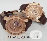 Bvlgari Chronograph Couple Wristwatch | Watches for sale in Lagos State, Oshodi-Isolo
