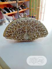 Clutch Purse- Silver And Gold | Bags for sale in Lagos State, Ikorodu