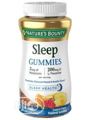 Natures Bounty Sleep Gummies 3 Mg Melatonin / 200mg L-Theanine | Vitamins & Supplements for sale in Lagos State, Amuwo-Odofin