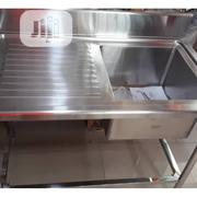 Single Basin With Side Work Table | Restaurant & Catering Equipment for sale in Lagos State, Ojo