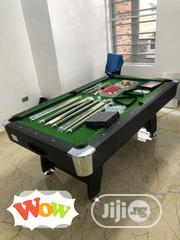 Durable Snooker Table Board With Complete Accesories   Sports Equipment for sale in Rivers State, Port-Harcourt