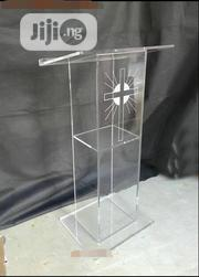 Transparent Acrylic Podium Pulpit | Furniture for sale in Oyo State, Ido