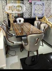 Executive Marble Dining Table by 6 | Furniture for sale in Lagos State, Ojo
