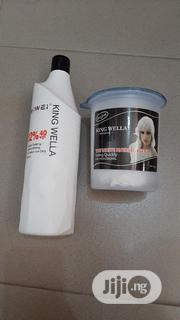 King Wella Powder And Developer   Hair Beauty for sale in Lagos State, Ikeja