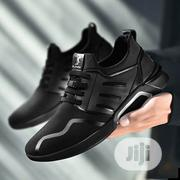 Mens Fashion Sneakers- Black | Shoes for sale in Ogun State, Abeokuta South