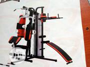 New Affordable Station Gym With Punching Bag | Sports Equipment for sale in Rivers State, Port-Harcourt