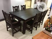 Well Furnished Pure Black Dining Table With 6 Chairs All for Sale | Furniture for sale in Lagos State, Lagos Island