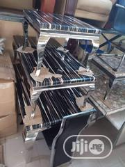 Set Of Dinning Table With 6 Chairs, Center Table With 2 Side Stools | Furniture for sale in Akwa Ibom State, Ikot Ekpene