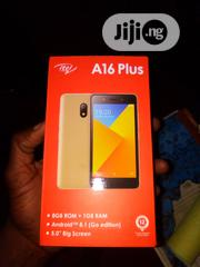 Itel A16 Plus 8 GB Gold | Mobile Phones for sale in Lagos State, Ikeja