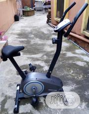 Roger And Gallet Roger Black Upright Exercise Bike. Nationwide Delivry | Sports Equipment for sale in Lagos State, Surulere