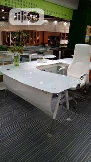 White Glass Executive Table | Furniture for sale in Lagos State, Lagos Island