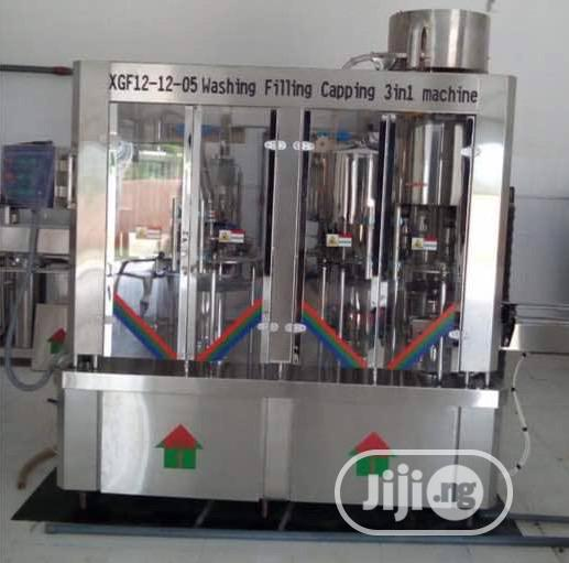 Archive: Monoblock Bottle Water Washing Filling Capping Machine