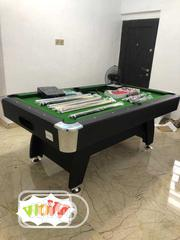 High Quality Standard Snooker Board Table With Complete Accesories | Sports Equipment for sale in Abuja (FCT) State, Maitama