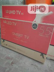 """LG 55"""" 4k Smart Television With Two Years Warranty. 