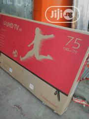 "LG 75"" 4k Smart Television With 2yrs Warranty. 