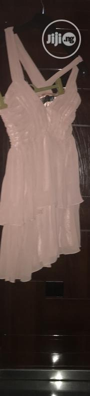 Prom/Bridesmaid Frilled Layer Midi Chiffon Dress | Clothing for sale in Rivers State, Port-Harcourt