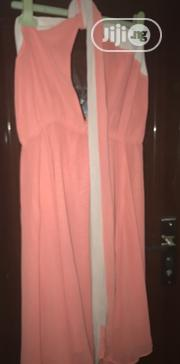 Coral Halter Neck Dress Size 16 UK   Clothing for sale in Rivers State, Port-Harcourt
