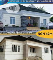 Beautiful 3 Bedroom/ Bath Bungalow With BQ for Sale | Houses & Apartments For Sale for sale in Lagos State, Ibeju