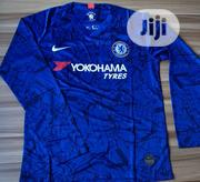 Chelsea Official 2019/20 Blue Long Sleeve Home Jersey | Clothing for sale in Lagos State, Surulere
