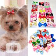 3 PCS/LOT Handmade Pet Accessories Grooming Hair Bows | Pet's Accessories for sale in Lagos State, Ifako-Ijaiye